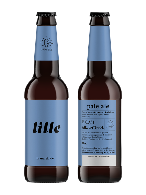 Lille Lager Flasche